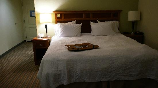 Hampton Inn Harriman Woodbury: 床