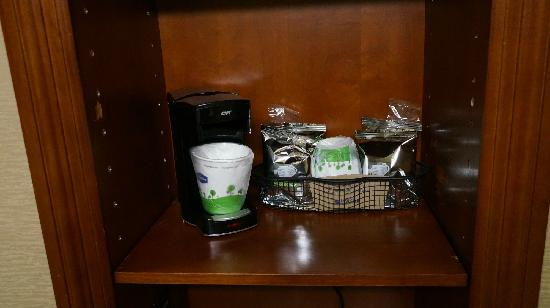 Hampton Inn Harriman Woodbury: 咖啡、茶
