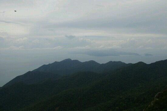 Gunung Mat Cincang: 山上