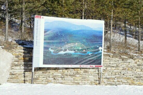 Yanzhi Valley Goldmine of Mohe: 金沟林场景区规划图