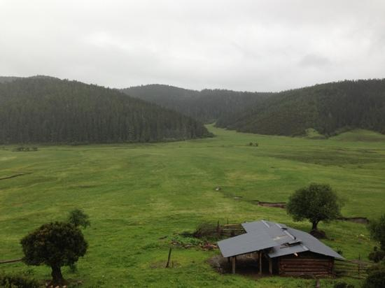 Xiagi Tibetan Culture Village : 俯视