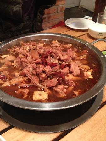 FengLinHuoShan SiJia Niu BanJin Hotpot
