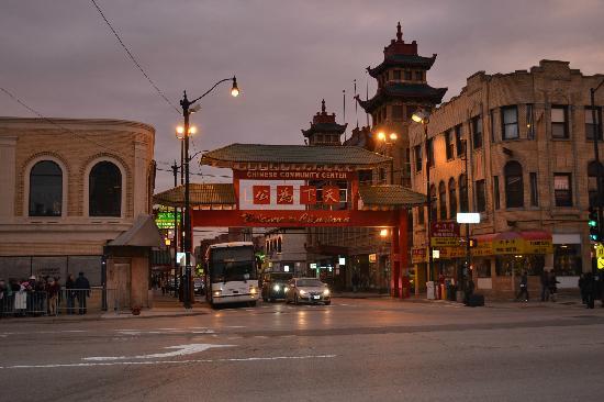 Chinatown Hotel: Chinatown gate