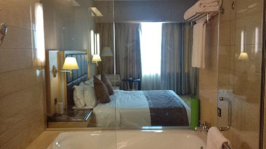 Hotel Nikko Wuxi: 浴室