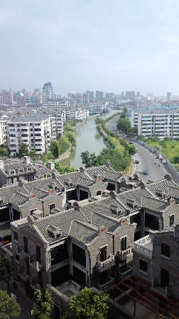 Hotel Nikko Wuxi: 窗外风景