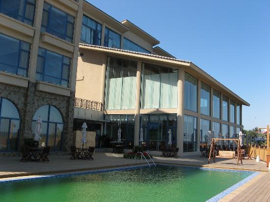 Beihuayuan Seaview Hotel: 酒店露天泳池