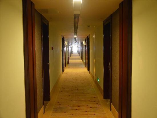 GreenTree Inn Beijing Lincui Road Business Hotel: 走廊