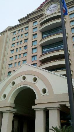 The Florida Hotel and Conference Center: 酒店正门
