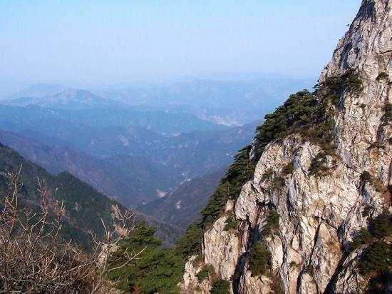 Tianmushan Scenic Aera: 很有气势