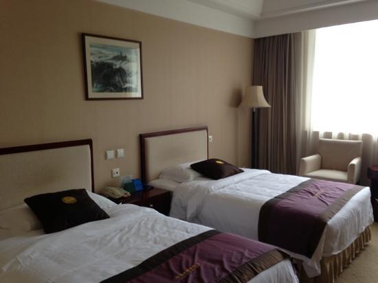 E Mei Shan Hot Spring Hotel : 标准间布置