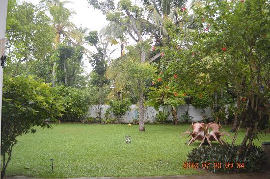 Mihin Villa: grass land