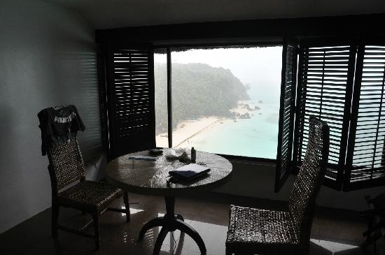 Nami Resort: 窗外