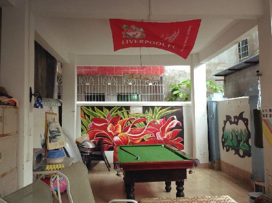 Lost International Youth Hostel Luhuitou: 桌球吧