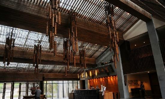 Lingshan Inn : 大厅
