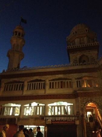 Jama Masjid - Leh : 夜晚的清真寺