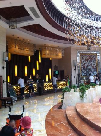 Shanghai Zhigen Xuelanghu Resort: 大堂