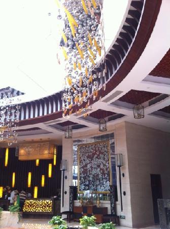 Shanghai Zhigen Xuelanghu Resort: 大堂侧面