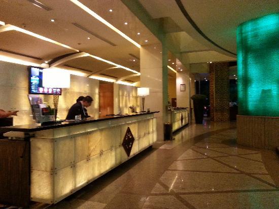 Kempinski Hotel Chengdu : 大堂前台