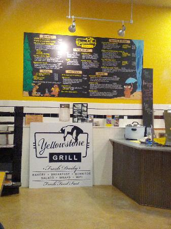 Yellowstone Grill: grill