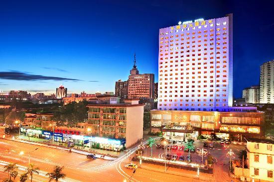 Jin Hua Hotel: 广西锦华大酒店夜景