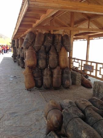 Shapotou Tourist Zone: 沙坡头黄河的羊皮筏子