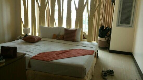 Maninarakorn Hotel : 主楼山景房