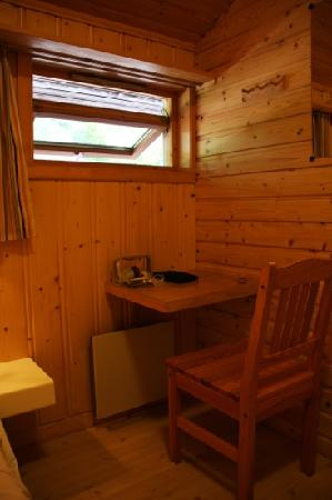 Flam Camping and Youth Hostel: single room with shared bathroom