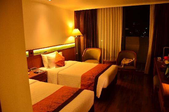 Bangkok Hotel Lotus Sukhumvit : 双床间