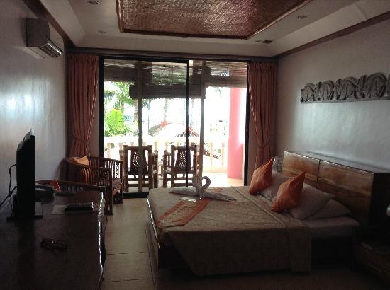 Nigi Nigi Too Beach Resort: 室内。分体空调喔
