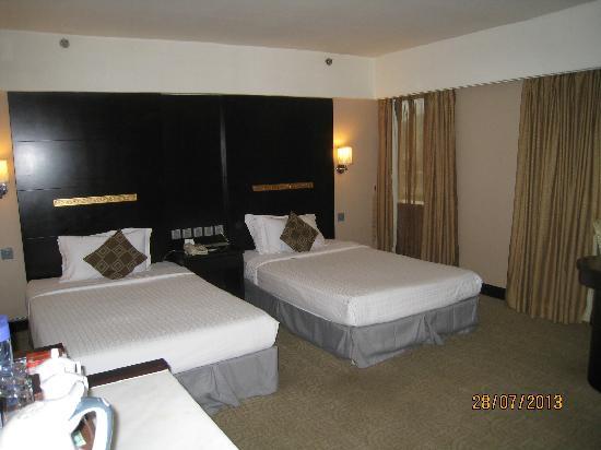Hotel Beverly Plaza: 睡得挺舒服
