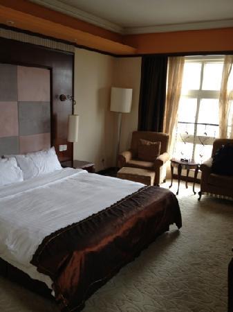 Nan Tong You Fei Hotel: 卧室,不赖噢噢