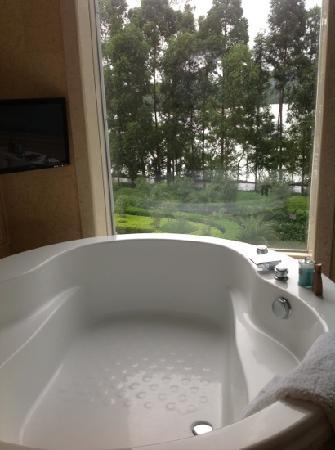 OYC Hotel: 临湖浴缸