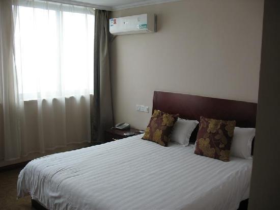 GreenTree Inn Changzhou Jiulong Goods Market Express Hotel : 客房