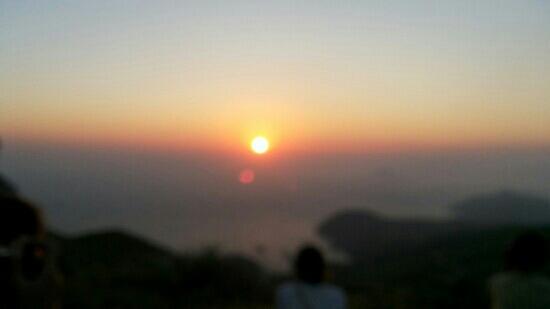 Yushan Island: 嵛山日出