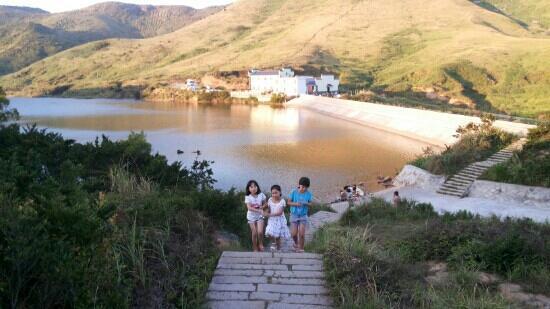 Yushan Island: 嵛山大天湖