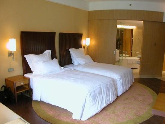 The Yuluxe Sheshan, a Tribute Portfolio Hotel, Shanghai : 湖景双床房