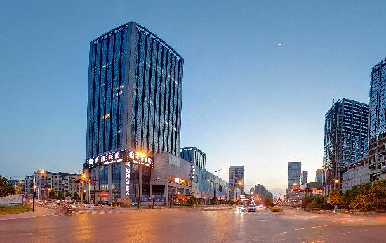 Lead Noble Boutique Hotel Hangzhou Qianjiang New City : 酒店外观