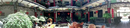 Xiangyue Dali Hotel: 全景院子