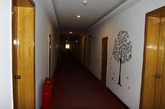 Marine Hotel: 走廊