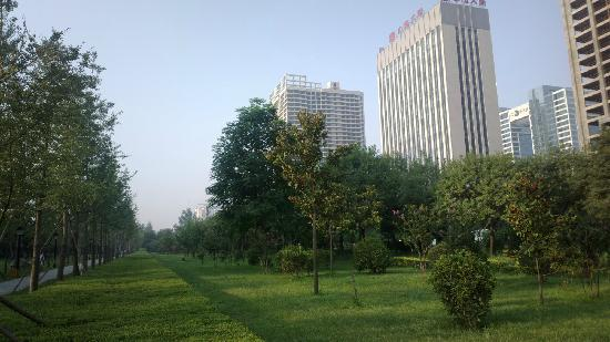 Tang chang'an Wall Site Park