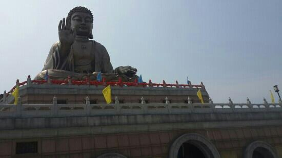 Nanshan Tourist Area : 龙口南山大佛