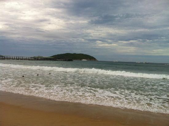 Universal Resort: 海滩
