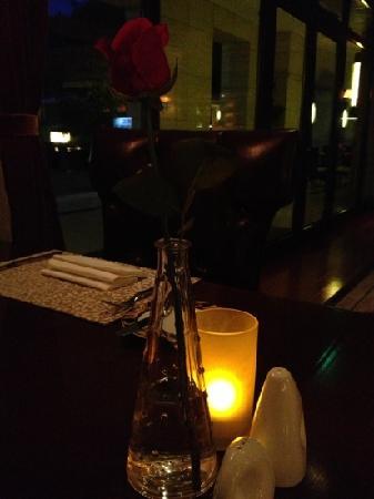 Rose Garden Resort : 酒店西餐厅七夕节