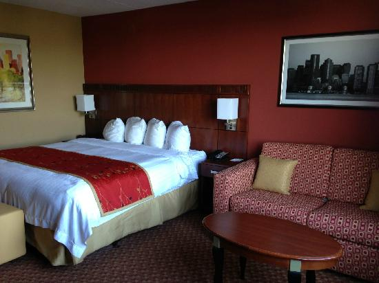 Courtyard by Marriott Boston Logan Airport: room