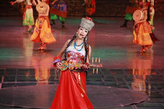 Jiuzhaigou National Arts Center: 藏羌晚会
