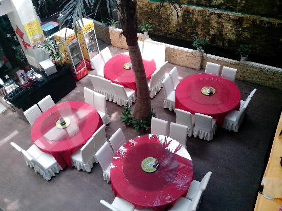 Yijing Holiday Hotel: 天井