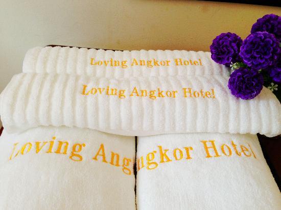Golden Orange Hotel: 房间的浴巾和毛巾,确实惊艳了。