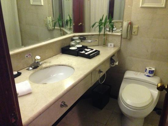 Park Hotel Shanghai: 大床房洗手间