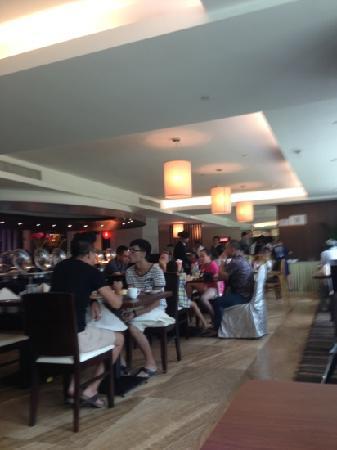 Ruixiang Fangzhi Hotel: 奥网城自助餐厅