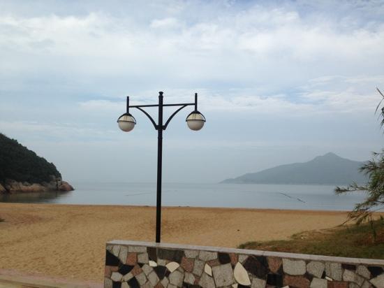 Longtoutiao Beach : 景区沙滩